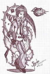 Demonio trajeado by Dygundam