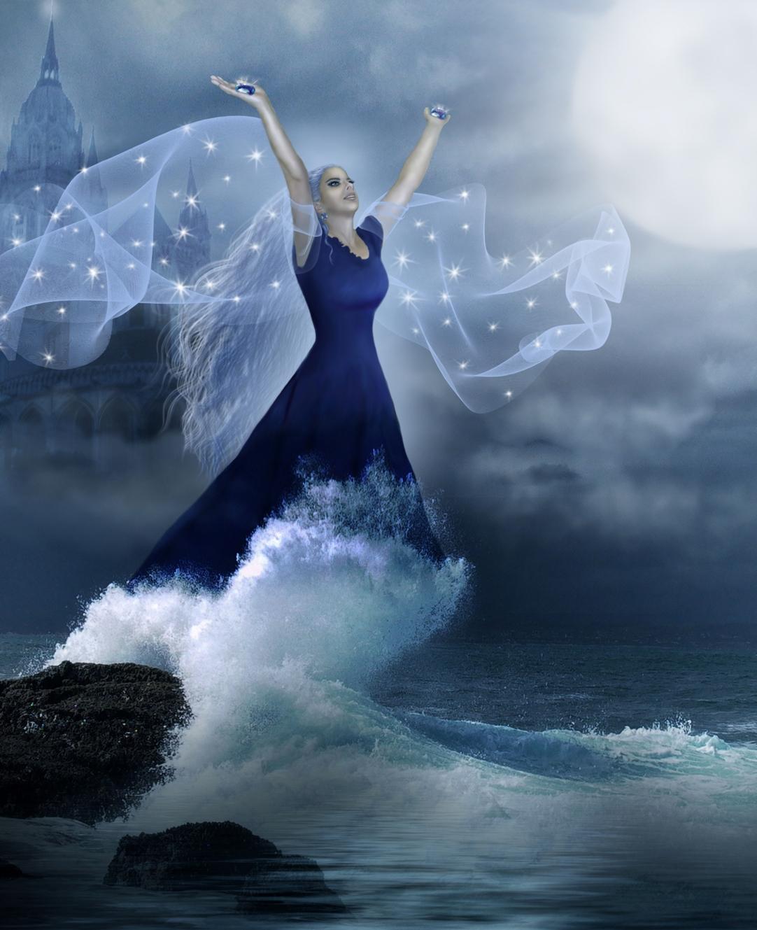 The Sea Priestess by svet-svet