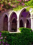 Palace garden. BG