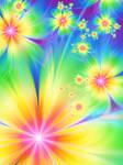 Flowers of rainbow