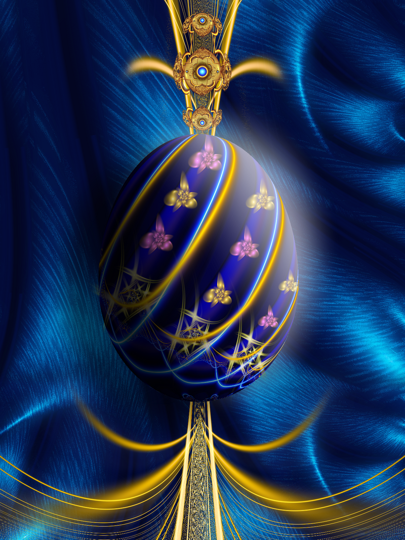 Easter Egg Faberge By Svet