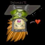 Free journal buddy - Chibi ceiling Sasuke by Sataraki