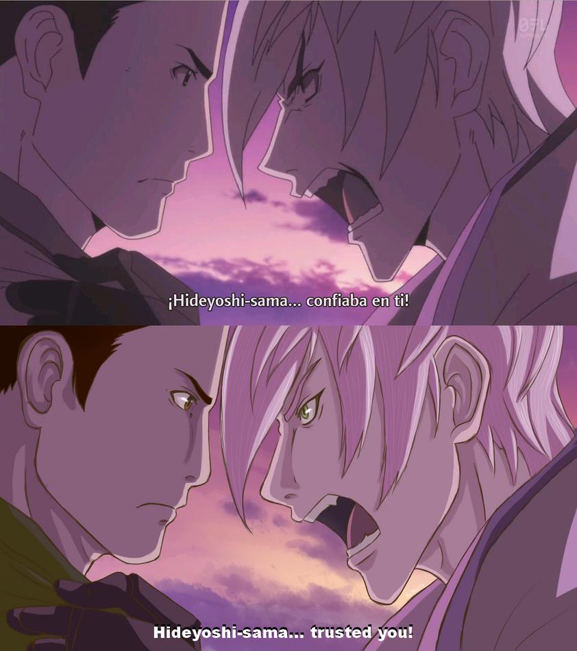 Scene redraw - Mitsu and Ieyasu by Sataraki