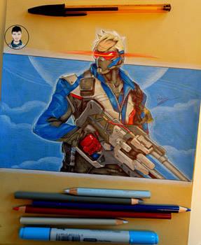 Soldier 76 - Overwatch.