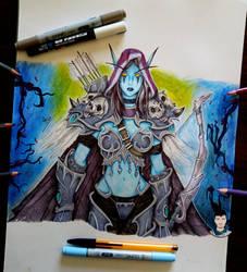 Sylvanas - World of Warcraft.
