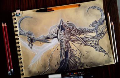 Malthael - Diablo 3 Reaper of Souls.