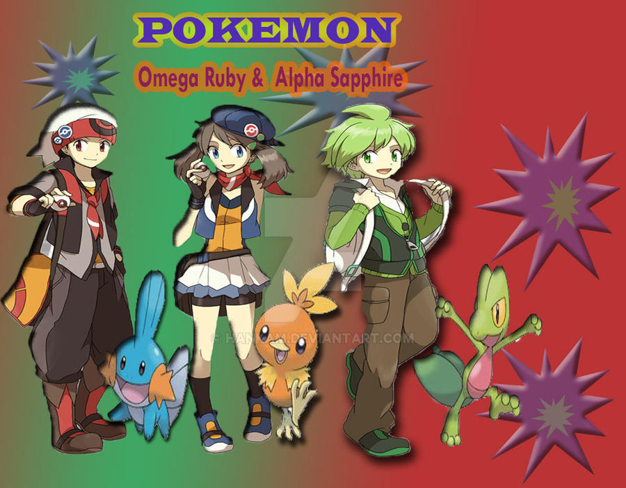 pokemon alpha sapphire and omega ruby by hankam on DeviantArt