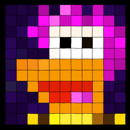 Gobo Fraggle Squares by Phraggle