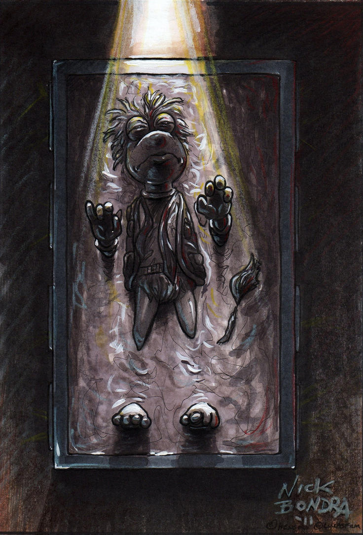 Gobo Fraggle In Carbonite by Phraggle