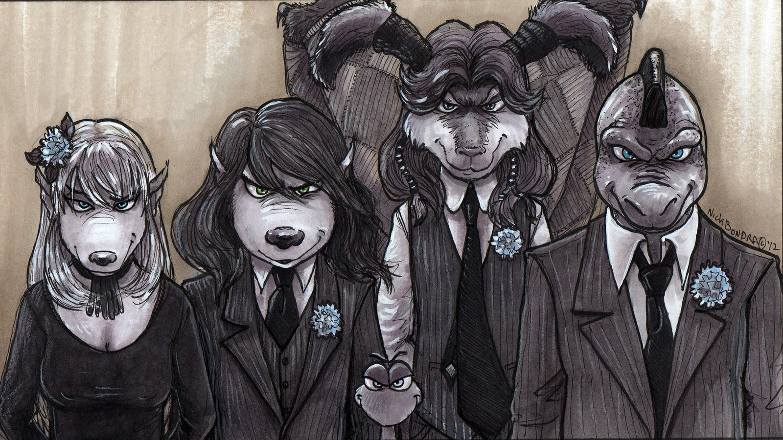 Foof Noir by Phraggle