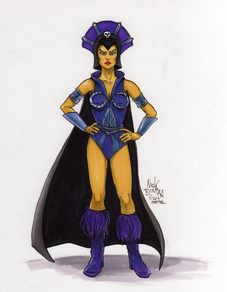 evil lyn x skeletor