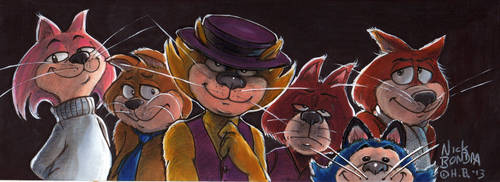 Top Cats by Phraggle