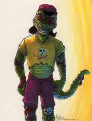 Mondo Gecko by Phraggle