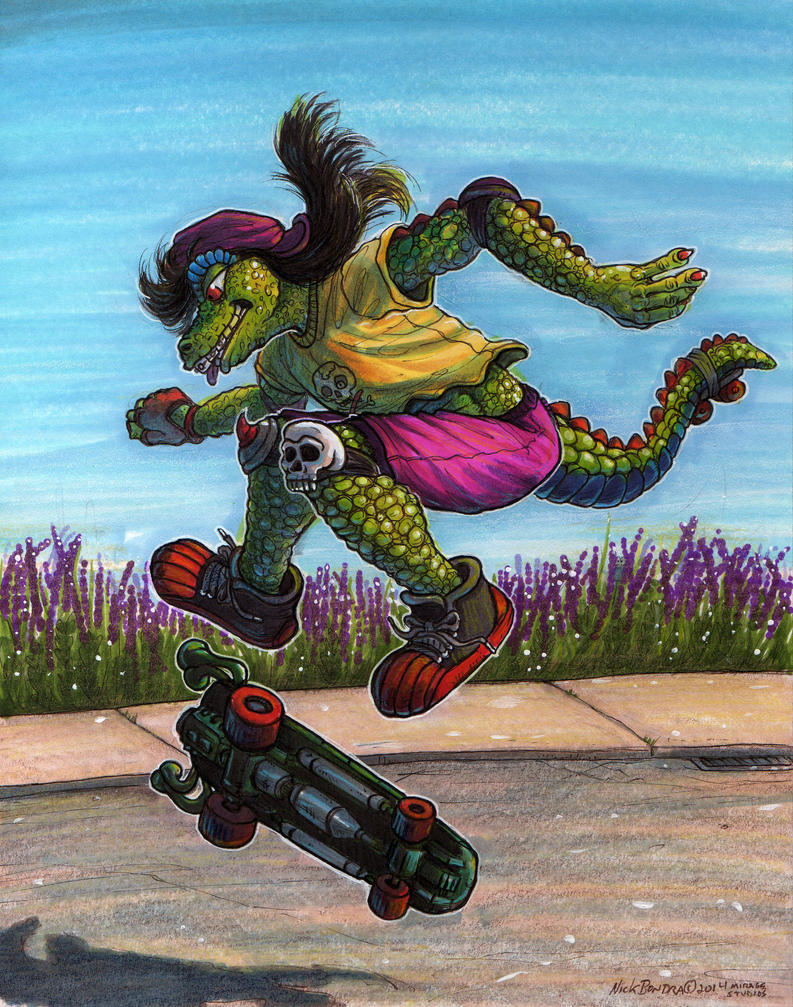 Mondo Gecko 2 by Phraggle