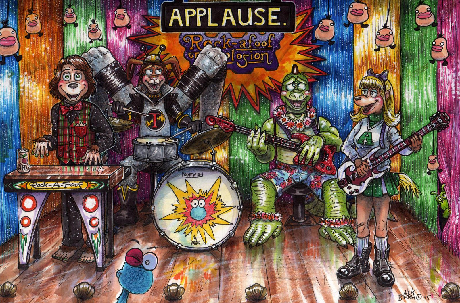 Animatronic Band By Phraggle On Deviantart