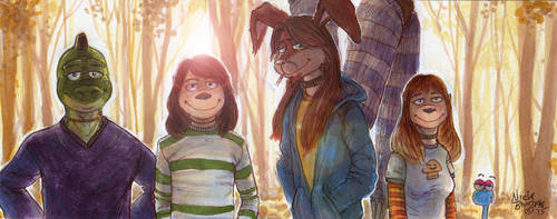 Chillin' in the Woods by Phraggle