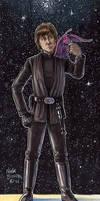 Luke Skywalker and Plif the Hoojib