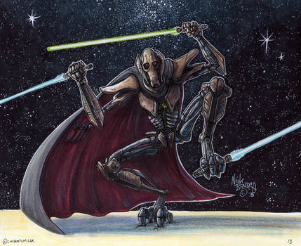 General Grievous by Phraggle