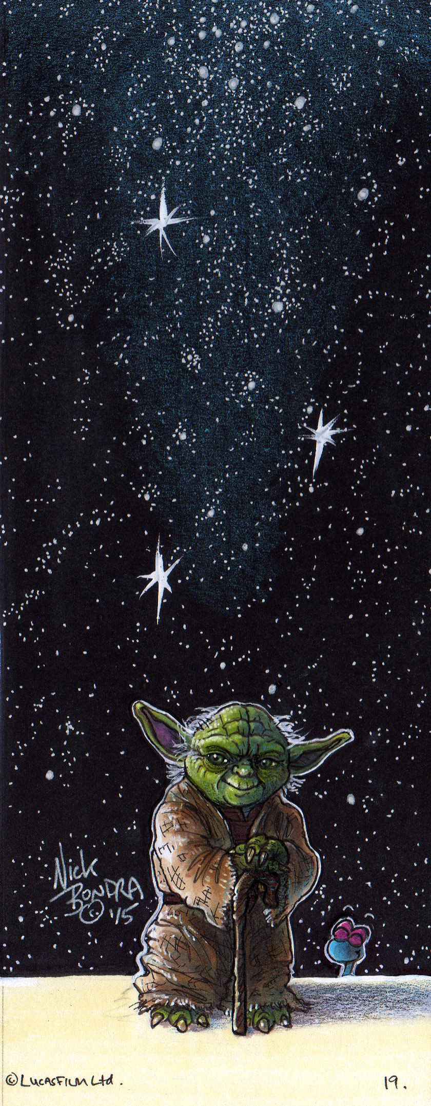 Yoda by Phraggle