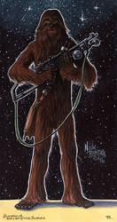 Chewbacca by Phraggle