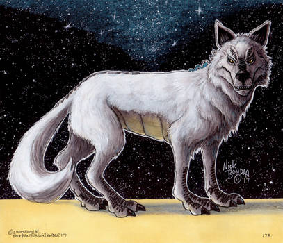 The White Loth-wolf by Phraggle