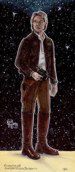 Han Solo ( Episode 7 ) by Phraggle