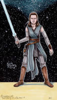 Rey ( Episode 8 ) by Phraggle