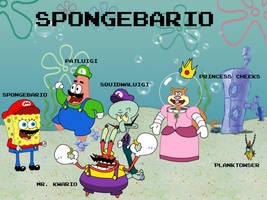 Spongebario by BatterymanAAA
