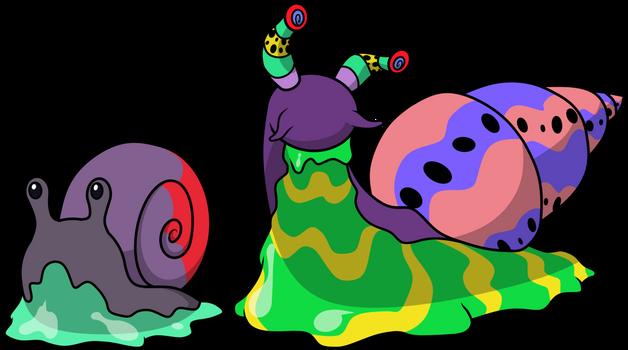 151 Poison Fakemon 16: Leucochloridium paradoxum