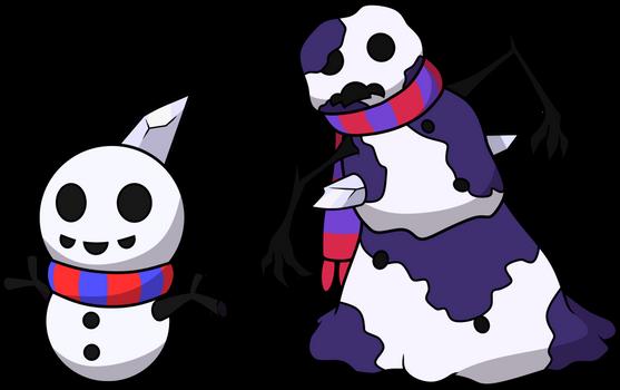 151 Poison Fakemon 17: Sludge Snowman