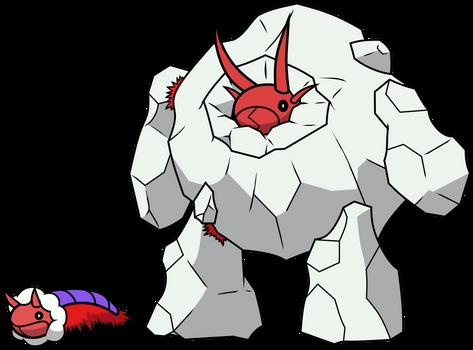 151 Poison Fakemon 18: Methane Worm