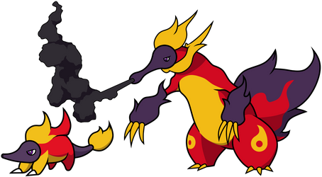151 Poison Fakemon 27: Bellows Monster