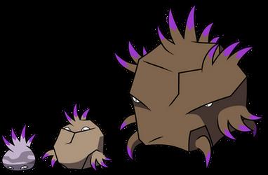 151 Poison Fakemon 34: Stone Mimic