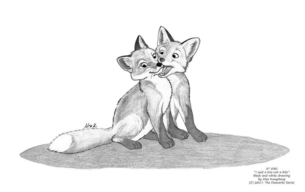 I said a kiss not a bite by AlexKH97
