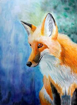 Fox Painting - Harmony