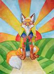 Peace and love - Foxtober 04