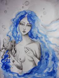 Little inked mermaid