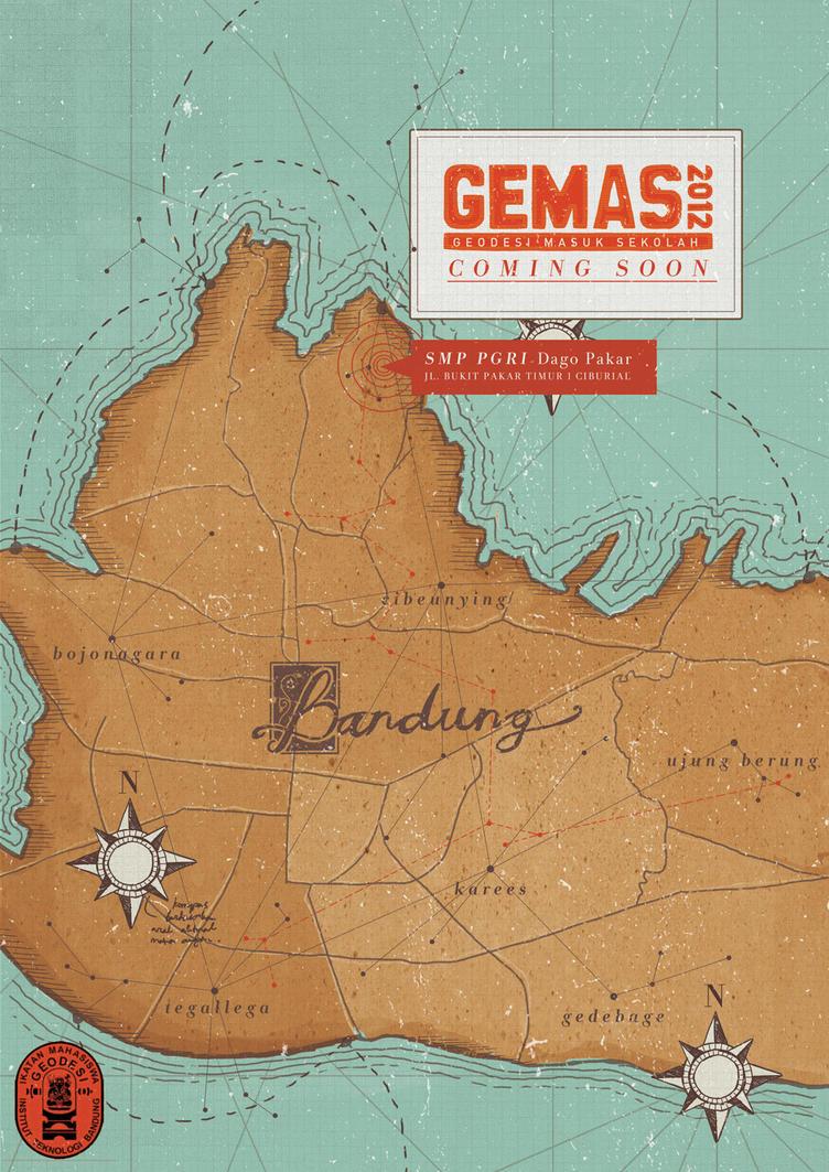 GEMAS2012 poster by BountyList