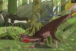 Theropod Versus Theropod