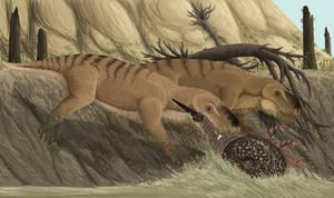 Paleozoic Crab Fishing
