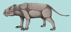 Indotherium by TrollMans