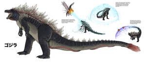 Folly of Man: Godzilla