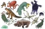 Folly of Man: Fauna of the Transantarctic (Part I)