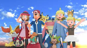 MMD Pokemon XYZ Gang