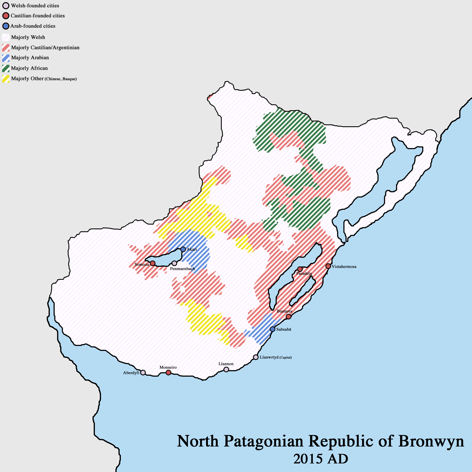 North Patagonian Republic of Bronwyn - VINW by Upvoteanthology