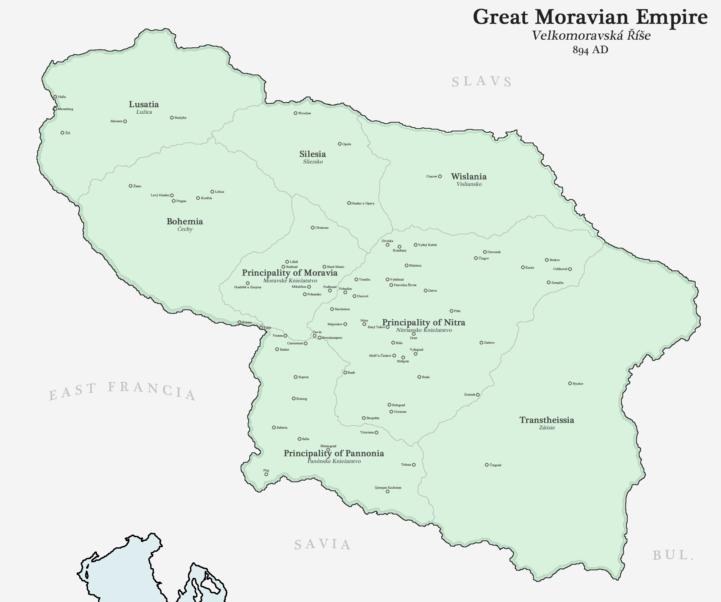 Great Moravian Empire by Upvoteanthology
