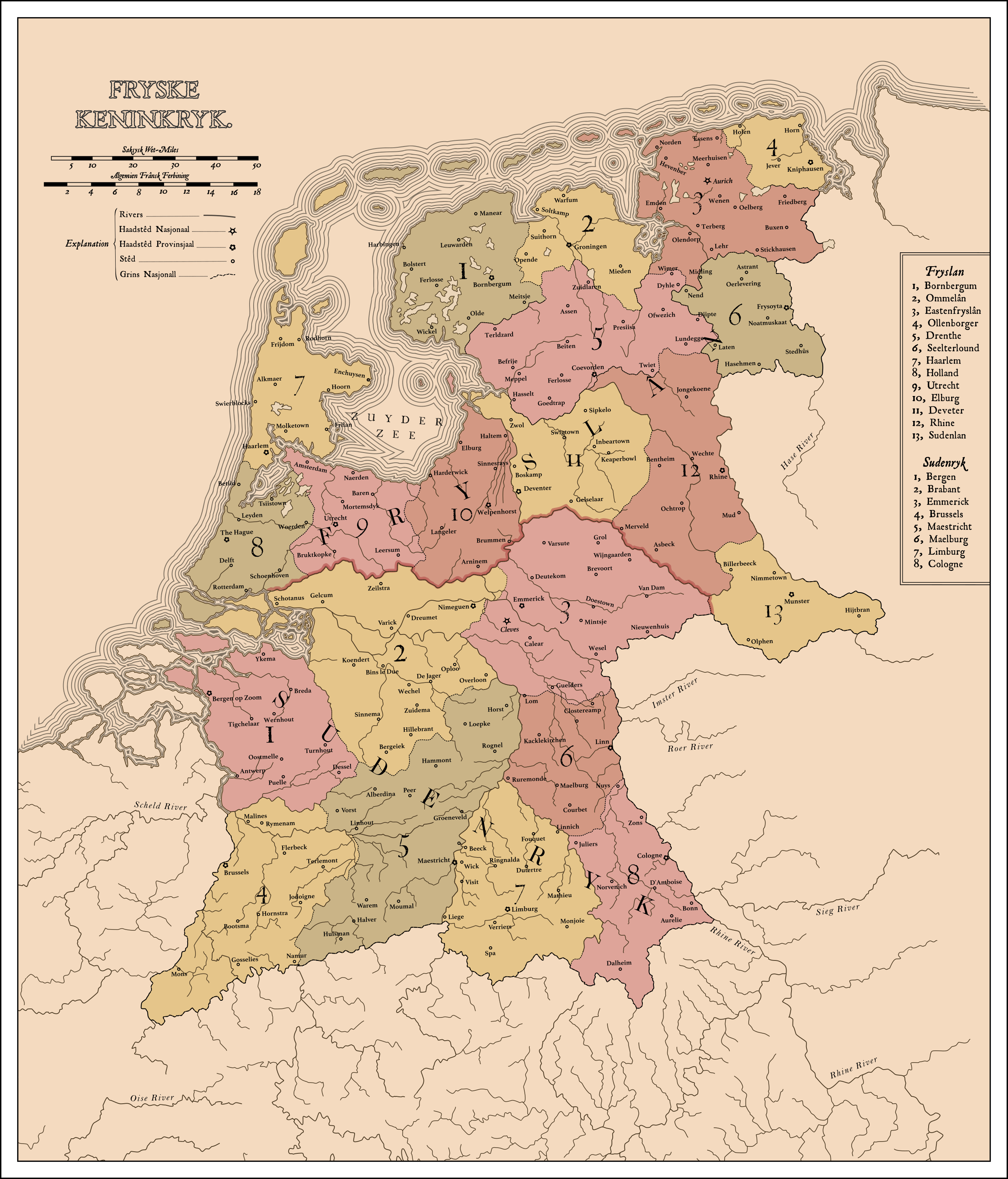 The Frisian Empire by Upvoteanthology