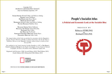 People's Socialist Atlas - Pages 2 and 3