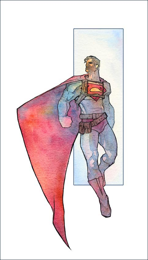 Superman by kamgates