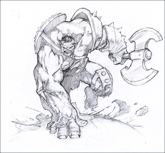 Hulk by kamgates